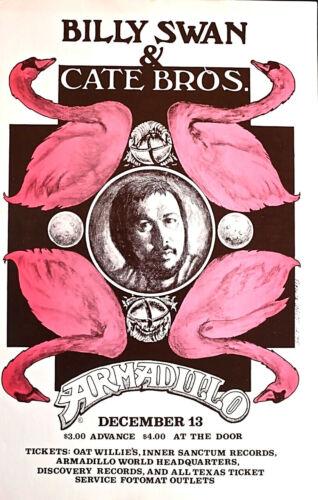 BILLY SWAN 1975 ARMADILLO WORLD HEADQUARTERS AUSTIN-   ORIGINAL SCARCE