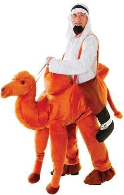 Herren Schritt Kamel Tier Arabischer Weihnachten Kostüm Kleid Outfit