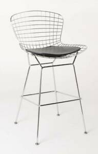 Replica Harry Betoia Wire Bar Stool Retro
