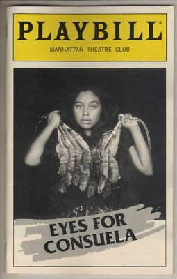 "Sam Shepard   ""Eyes For Consuela""   Playbill   1998   Manhattan Theatre Club"