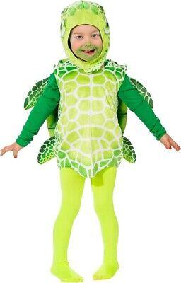 Kleinkind Jungen Mädchen Grün See Schildkröte TV Buch - Schildkröte Kleinkind Kostüme