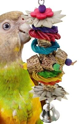 01097 Jungle Stick BIRD TOY parrot toys cages conure african grey cockatiel