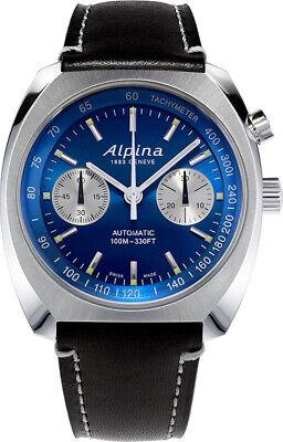 Alpina Men's Swiss Automatic Chronograph Blue Multi Dial 42mm Watch AL-727LNN4H6