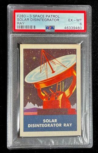 1953 F280-3 RALSTON PURINA SPACE PATROL SOLAR DISINTEGRATOR RAY CARD PSA 6