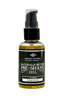 PreShave Oil - First Step For A Naturally Better Shave (Best Pre Shave Oil)