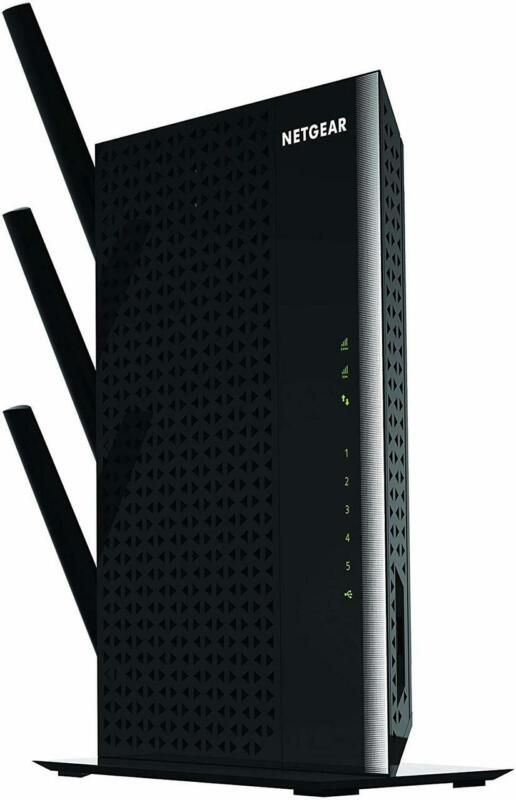NETGEAR EX7000-100NAR Nighthawk AC1900 Desktop WiFi Range Extender - Certified