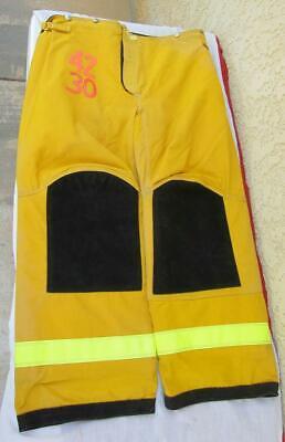 Lion Janesville Firefighter Fireman Turnout Gear Pants Size 42x30 - D J1