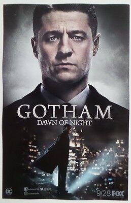 SDCC Comic Con 2017 DC / FOX - GOTHAM Dawn of Night season 4 promo poster