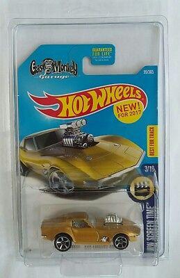 🌐2017 HOT Wheels 68 Corvette Gas Monkey Garage Gold Midas. Best Buy✔ (Best Toy Car Garage)