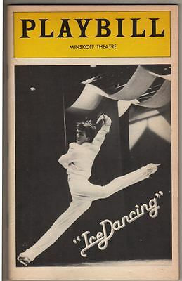 """IceDancing""   Playbill   Broadway  1978   John Curry  &  JoJo Starbuck"