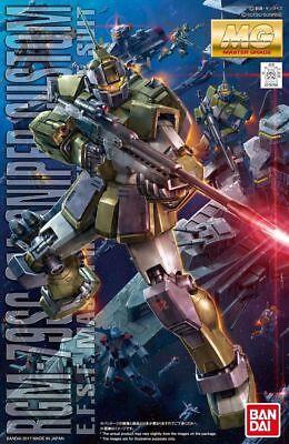 Gundam 1/100 MG GM Sniper Custom EFSF Mobile Suit MSV Model Kit USA Seller!