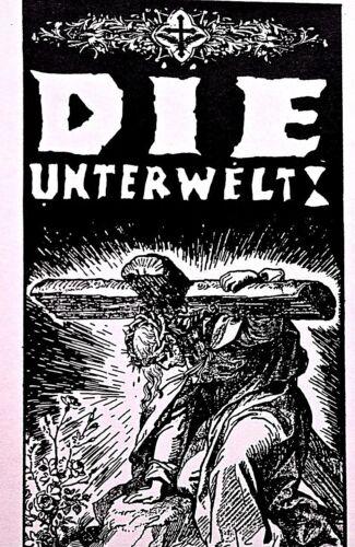 DIE UNTERWELT JESUS FIRST - EARLY KOZIK AUSTIN -  1989. original PUNK RARE