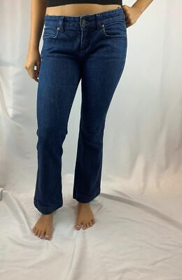 Gucci 70s Vintage Fitted Flared Cropped Jeans