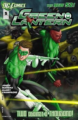 GREEN LANTERN #5 FN/VF - VF- VARIANT COVER THE NEW 52!