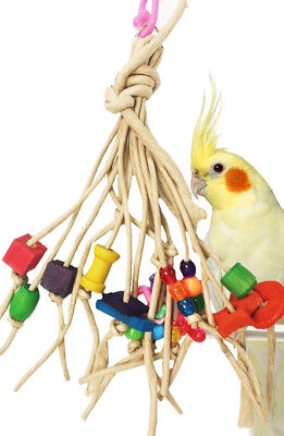 1110 Tangle Bird Toy parrot cage toys cages african grey conure cockatoo quaker
