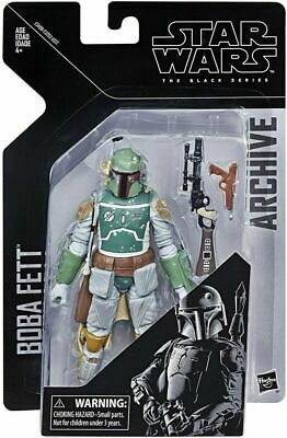 "HASBRO STAR WARS THE BLACK SERIES 6"" inch ARCHIVE [BOBA FETT] Action Figure"