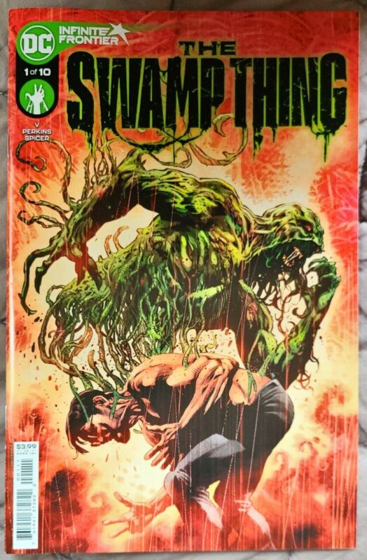 THE SWAMP THING #1 1ST PRINT NM DC COMICS Pale Wanderer!!