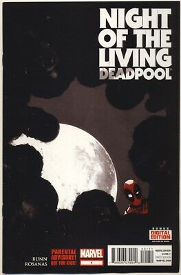 DEADPOOL NIGHT OF THE LIVING DEADPOOL #1-4 Zombie Apocalypse COMPLETE SERIES