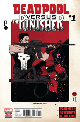 Deadpool Versus The Punisher #1 (NM)`17 Van Lente/ Perez