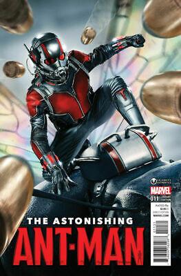 Astonishing Ant-Man #11 Paul Rudd movie photo variant NM- or