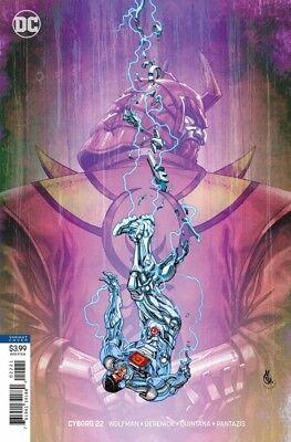 CYBORG #22 Variant Comics Danda 1st Appearance Of Mekkan-X Teen Titans Movie TV