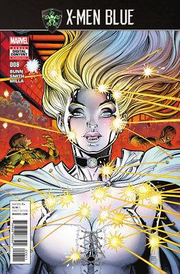 X-Men Blue #8 NM Marvel 2017 Cullen Bunn Jean Grey Cyclops Angel Iceman Beast (Xmen Blue Beast)