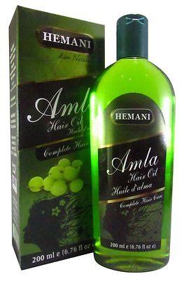Hemani Amla Hair Oil 200ml (Complete Hair Care). US Seller (Free Shipping)