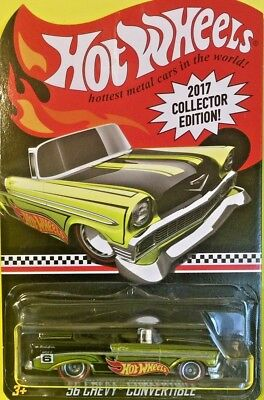 Hot Wheels 2017 K-Mart Mail In Collector Edition 56 CHEVY CONVERTIBLE FFY68