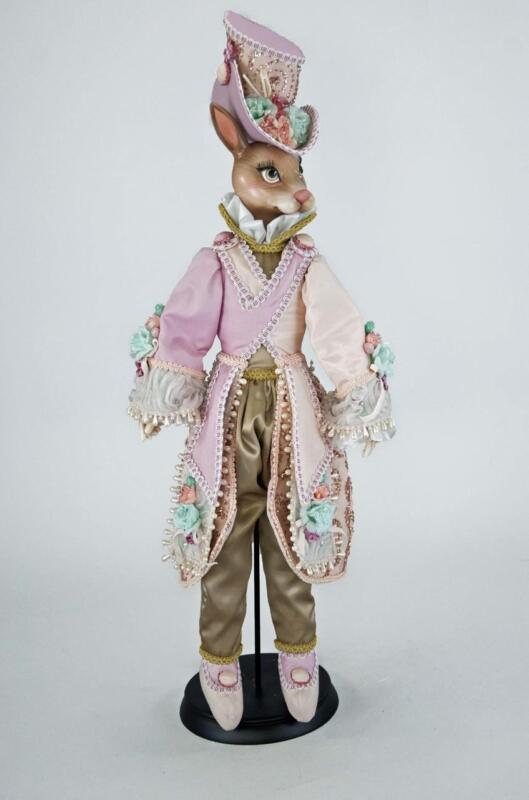 "Katherine's Collection - Secret Garden Bunny Doll 24"" Easter XMAS - 11-711262"