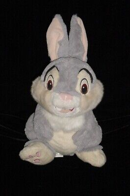 """Disney Store Authentic THUMPER Bunny Soft Plush Toy Stuffed Animal 14"""" Tall"""