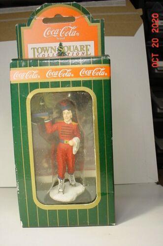 Town Square Coca Cola Christmas Drive In Girl Skating #64346 NIB