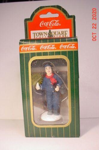 Town Square Coca Cola Christmas Mailman #64342 NIB