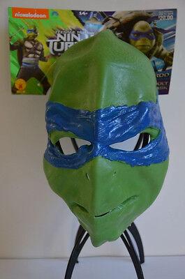 Halloween Mask Teenage Mutant Ninja Turtles Leonardo or Raphael Rubies 14+ NEW