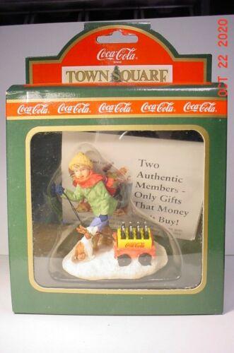 Town Square Coca Cola Christmas Homeward Bound #64321 NIB