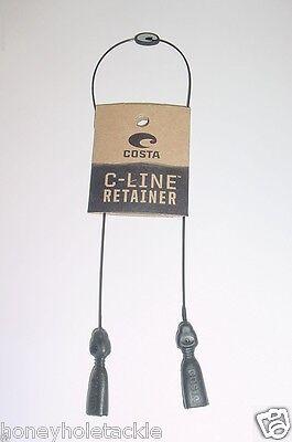 BRAND NEW COSTA DEL MAR C-LINE RETAINER KEEPER STRAP BLACK