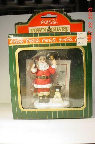 Town Square Coca Cola Christmas Charity Santa #CG2413 NIB