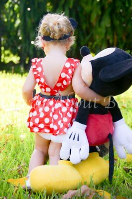 Minnie Mouse Inspired Red & White Polka Dot Birthday Party Sequin