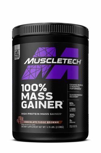 MuscleTech 100% Mass Gainer Protein Powder