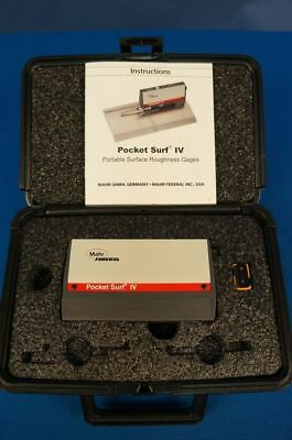 New Mahr Pocket Surf Ivsurface Finishroughnesstesterprofilometer Warranty