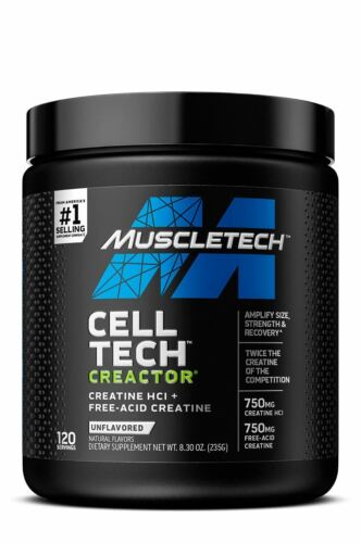 MuscleTech Creactor Unflavored - 120 Servings