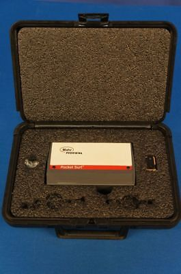 Mahr Federal Pocket Surf 3surface Finishroughnesstesterprofilometer Warranty