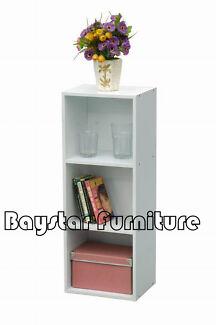 Brand New Display Shelves Storage Bookshelf 3/4 Level Tier