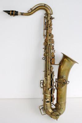 Antique ROYAL ARTIST Bruno NY Saxophone & Case. C Melody BEAUTIFUL & RARE for sale  Ridgewood