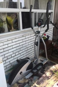 Elliptical Machine.  Working out, Fitness