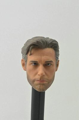 First Rate Ben Affleck 1 6 Head Sculpt For Hot Toys Bruce Wayne Custom Body