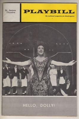 "Ethel Merman  ""Hello, Dolly!""   Playbill   1970   LAST MONTH"