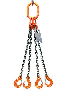 Chain Sling - 932 X 6 Quad Leg With Sling Hooks - Grade 100