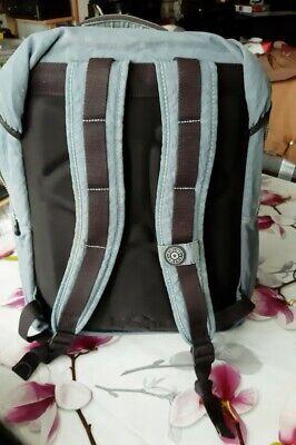 cartable sac à dos de sport de voyage ecole KIPLING très bon état gris bleu