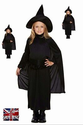 Witch Costume Girls Halloween Trick Or Treat Fancy Dressing up/1 Free glow stick ()