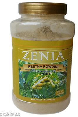 7oz - 200g Pure Zenia Ritha Powder retha aretha Soapnut Powder Hair Cleanser USA